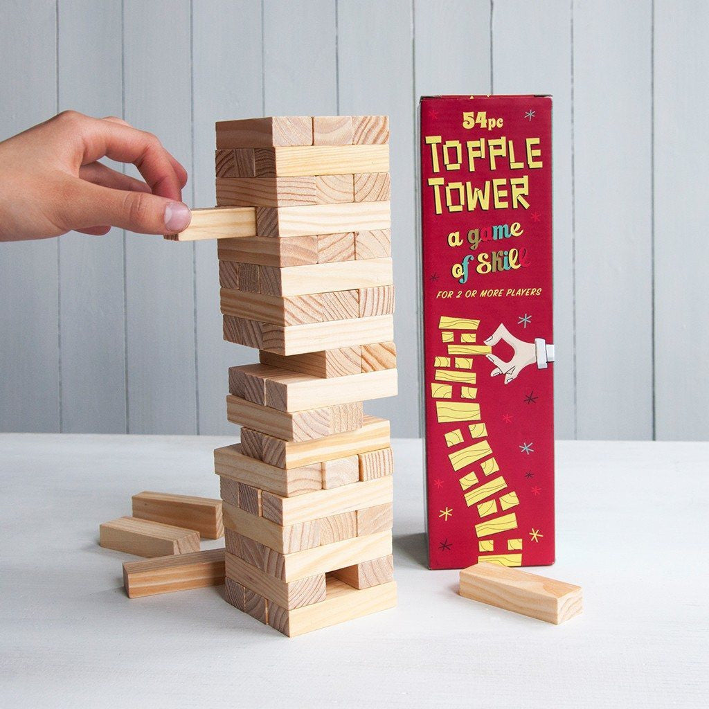 Topple Tower - 54 Pieces