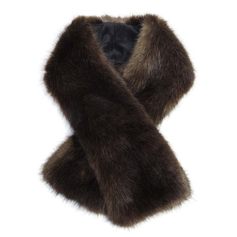 Treacle Faux Fur Tippet Scarf