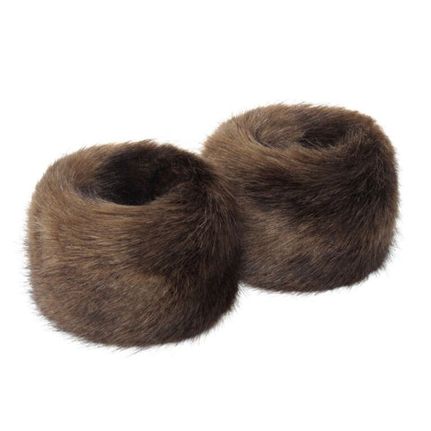 Treacle Faux Fur Wrist Warmers