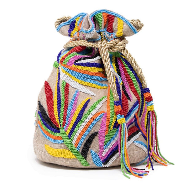 Tropical Pouch Bag Multi