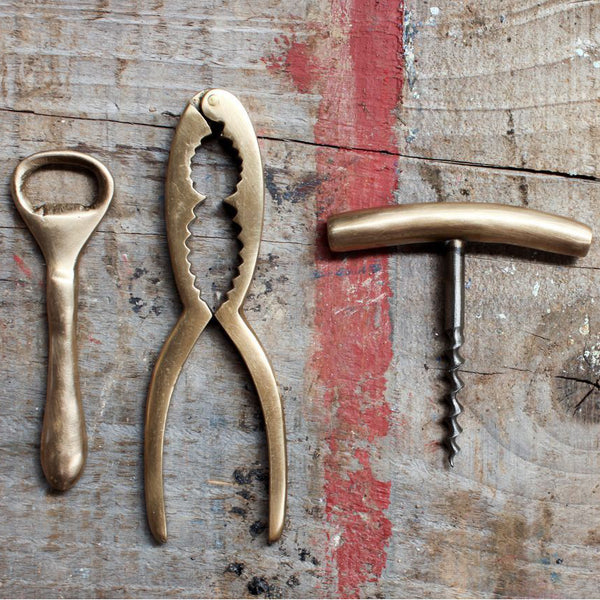 Vintage Gold Cork Screw