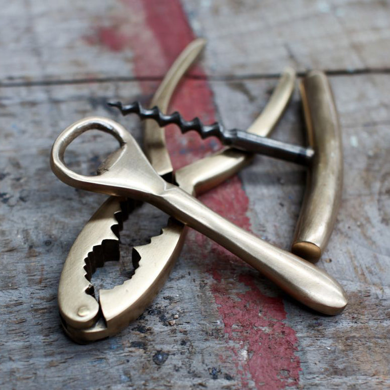 Vintage Gold Bottle Opener
