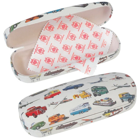 Vintage Transport Glasses Case