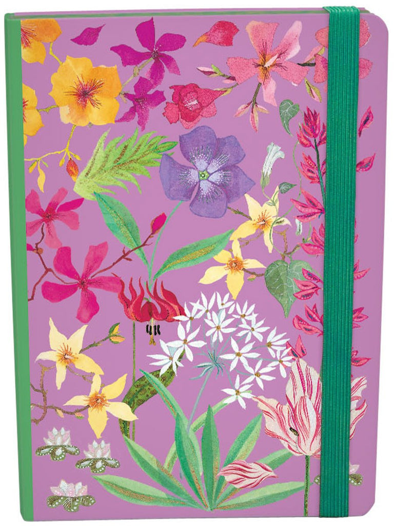 Wildflowers A5 Journal With Elastic