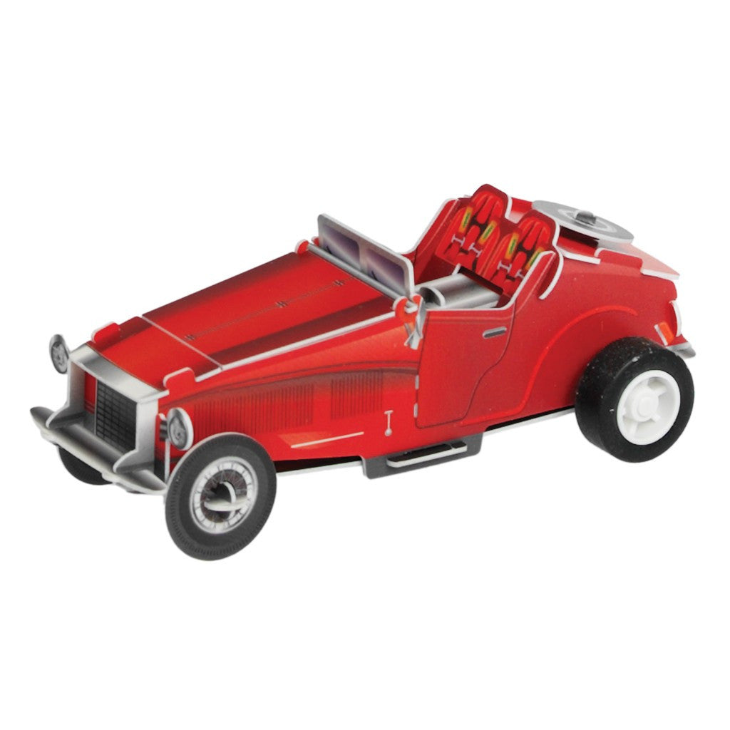 Make Your Own Wind Up Racing Car