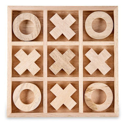 Large Mango Wood Noughts & Crosses