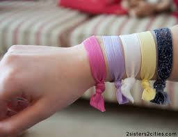 Hair & Wrist Bands (Sweet Ballerina)