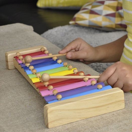 Retro Xylophone with Songsheet