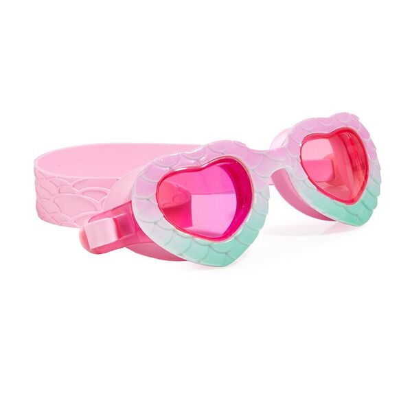 Mermaid In The Shade Swim Goggles, Mint/Pink