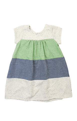Color Block Keyhole Dress, SAGE