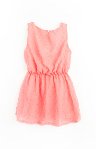 Chiffon Dress, APRICOT