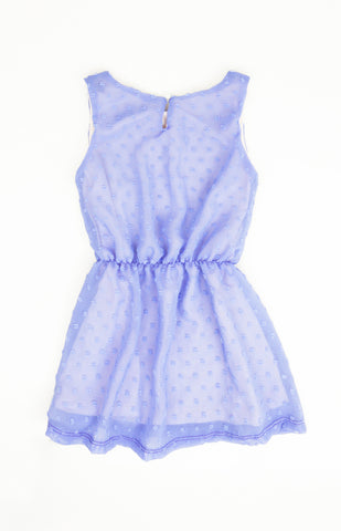 Chiffon Dress, PURPLE