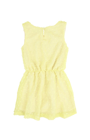 Chiffon Dress, YELLOW