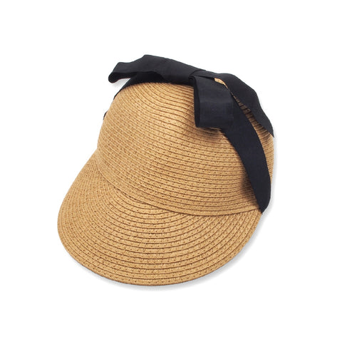 Floppy Straw Hat, tan