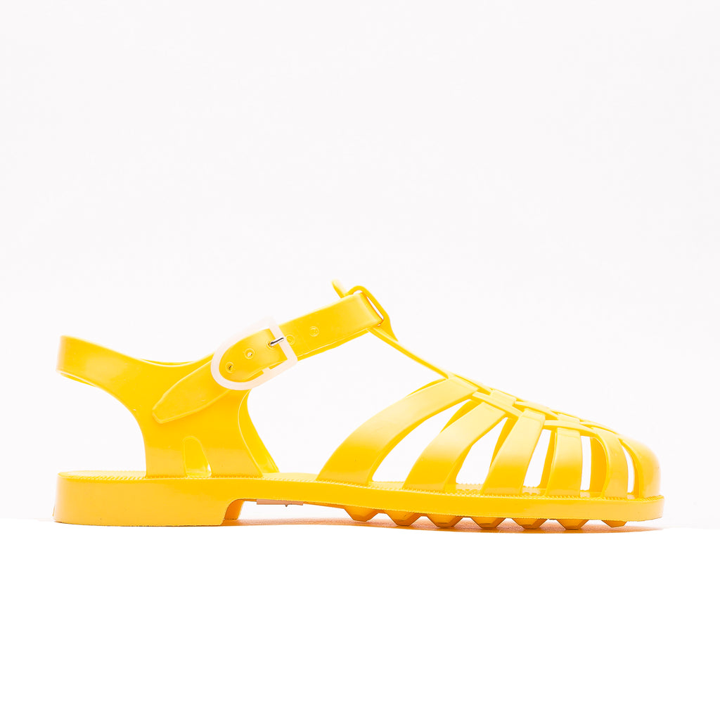 Jelly Beach Sandals, Yellow