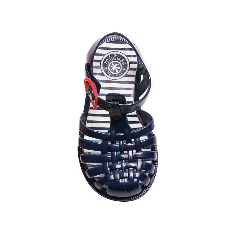 Jelly Beach Sandals, Navy