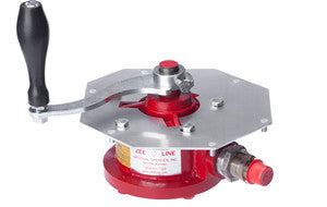914-960 Red Pump Assembly for The Shortening Shuttle® Waste Oil Carrier Simplicity Series