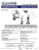 Simplicity Pump Series Delivery for both models is running 4 weeks from date of order.