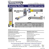 Economy Series Shortening Shuttle®