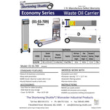 Economy Series Shortening Shuttle® SS-611s/SS-709-Ts  Out of Stock till March 26th