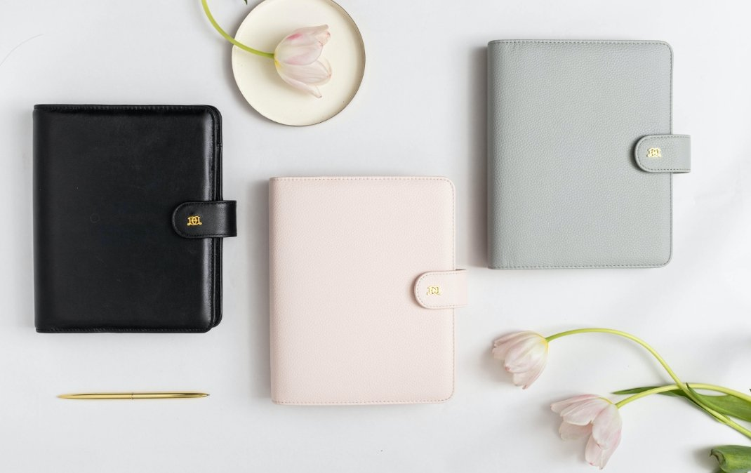 graphic about Planner Binders known as Least complicated Refillable Binder Planner The Authentic Working day Designer