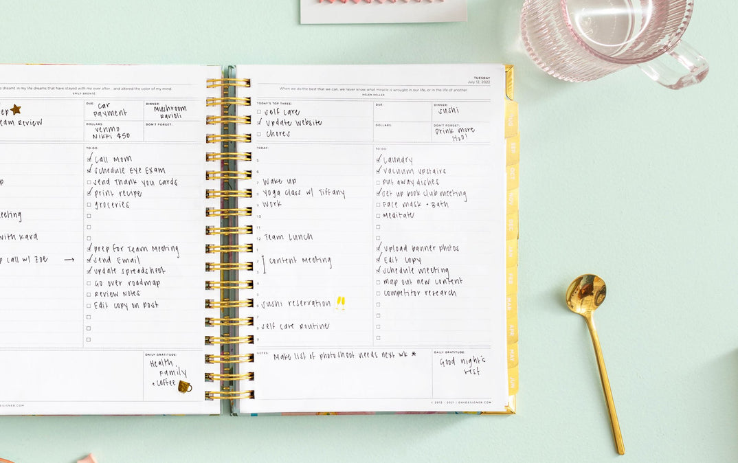 photograph regarding Day Designer Planner identify Instructional Calendar year 2019-2020 Initial Every day Planners Working day Designer