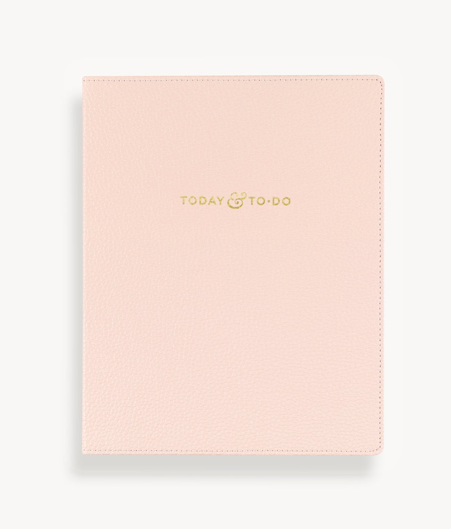 Today & To-Do Non-Dated Planner: Addison Blush