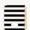 January 2020 Daily Planner: Black Stripe