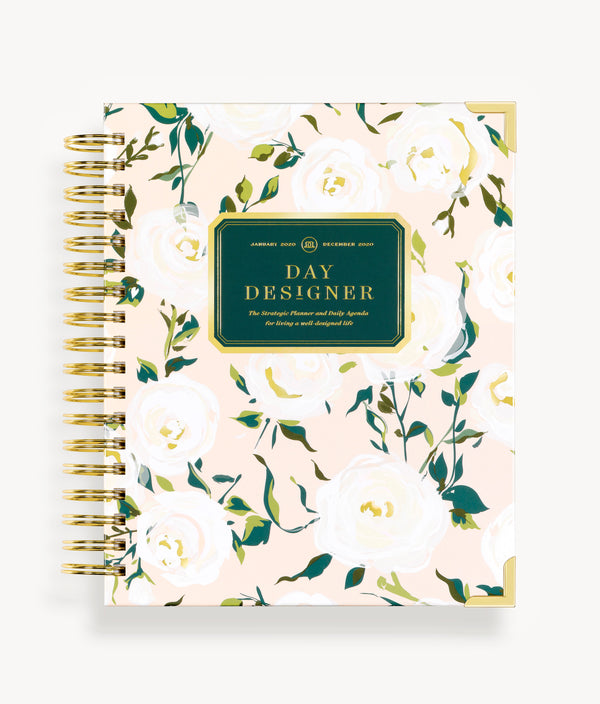 January 2020 Daily Planner: Coming Up Roses