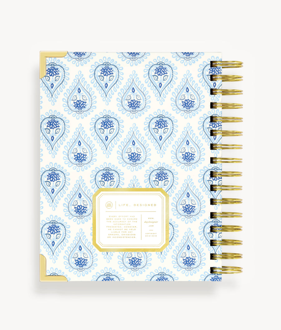January 2020 Mini Weekly Planner:  Perfectly Paisley