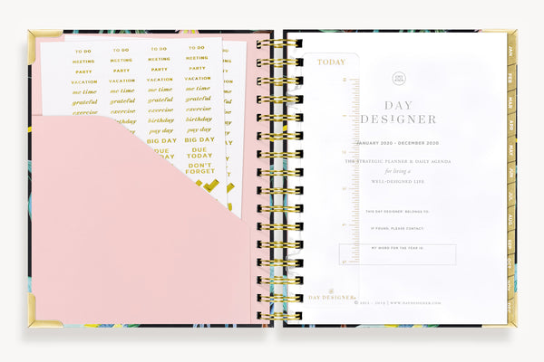 January 2020 Mini Daily Planner: Shangri La