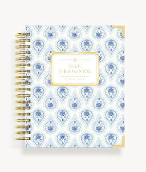 January 2020 Daily Planner:  Perfectly Paisley