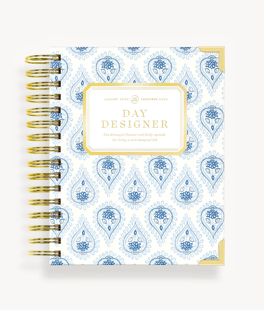 January 2020 Mini Daily Planner:  Perfectly Paisley