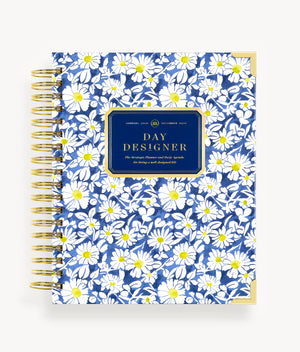 January 2020 Daily Planner: Field of Daisies