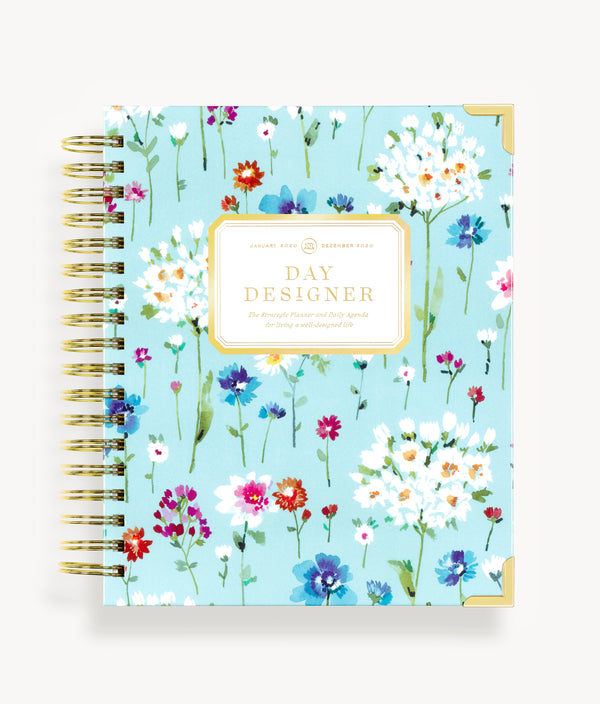 January 2020 Daily Planner:  Wildflowers