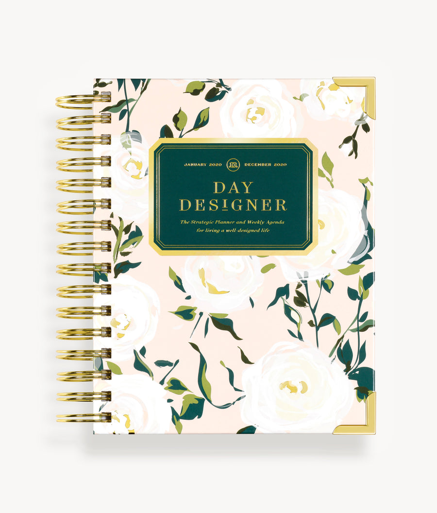 January 2020 Mini Weekly Planner:  Coming Up Roses