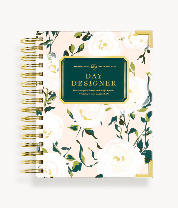 January 2020 Mini Daily Planner:  Coming Up Roses
