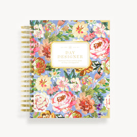 Academic Year 2020-2021 Daily Planner: Bouquet