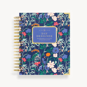 Academic Year 2020-2021 Daily Planner: Wildflowers