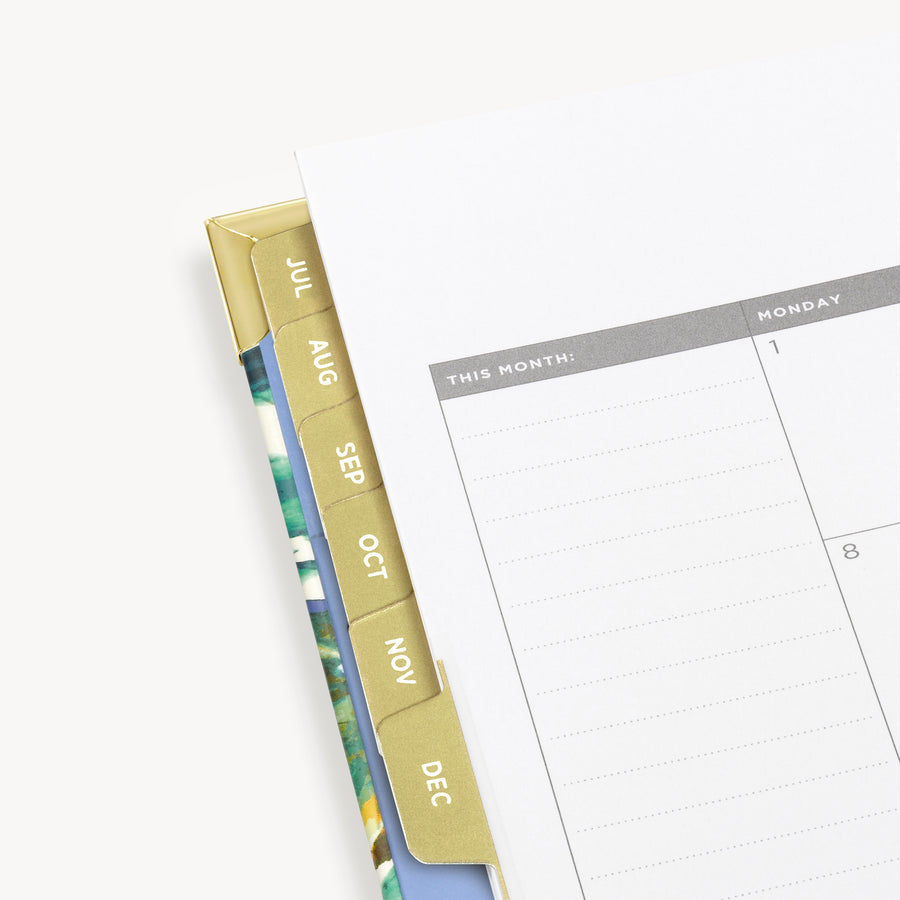 Academic Year 2020-2021 Daily Planner:  Vintage Floral