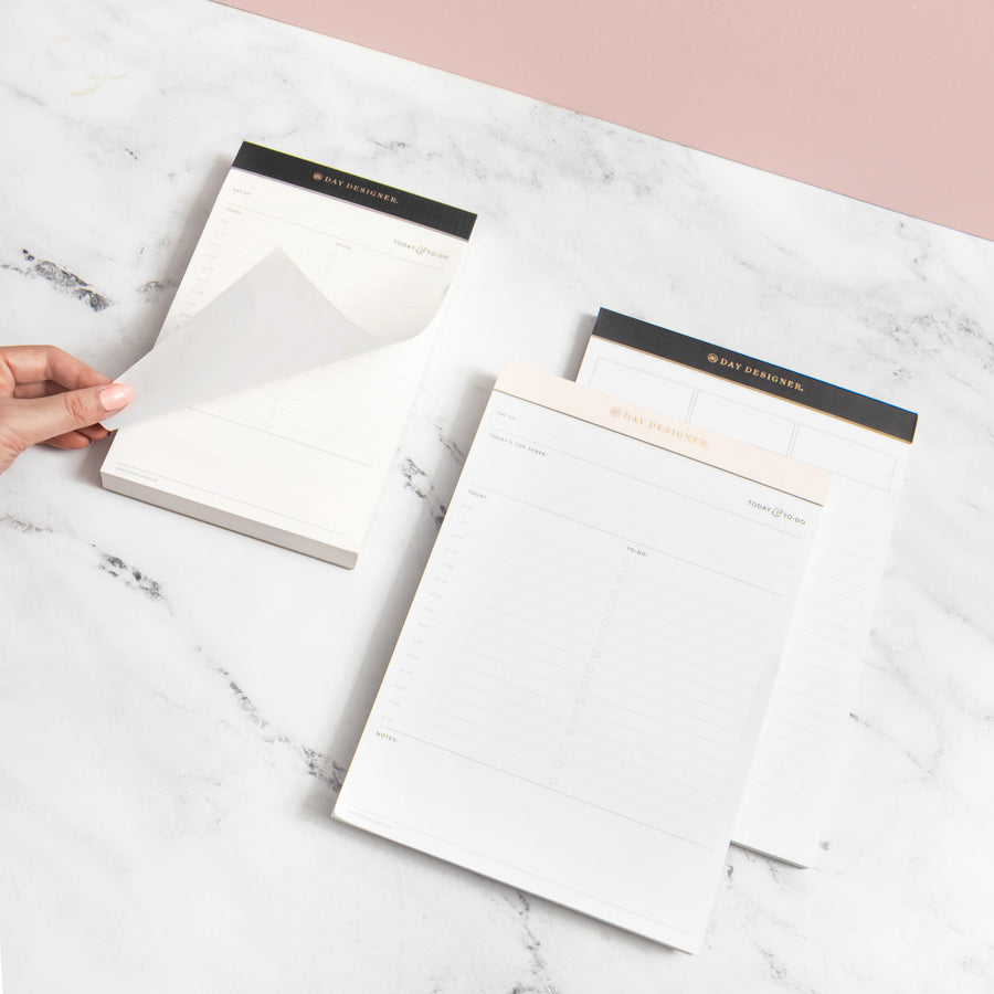 Lined Notes Desktop Pad: Charcoal