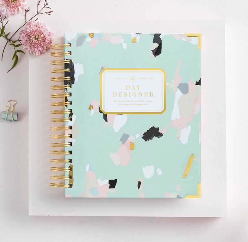 2021 Daily Planner:  Artfully Abstract