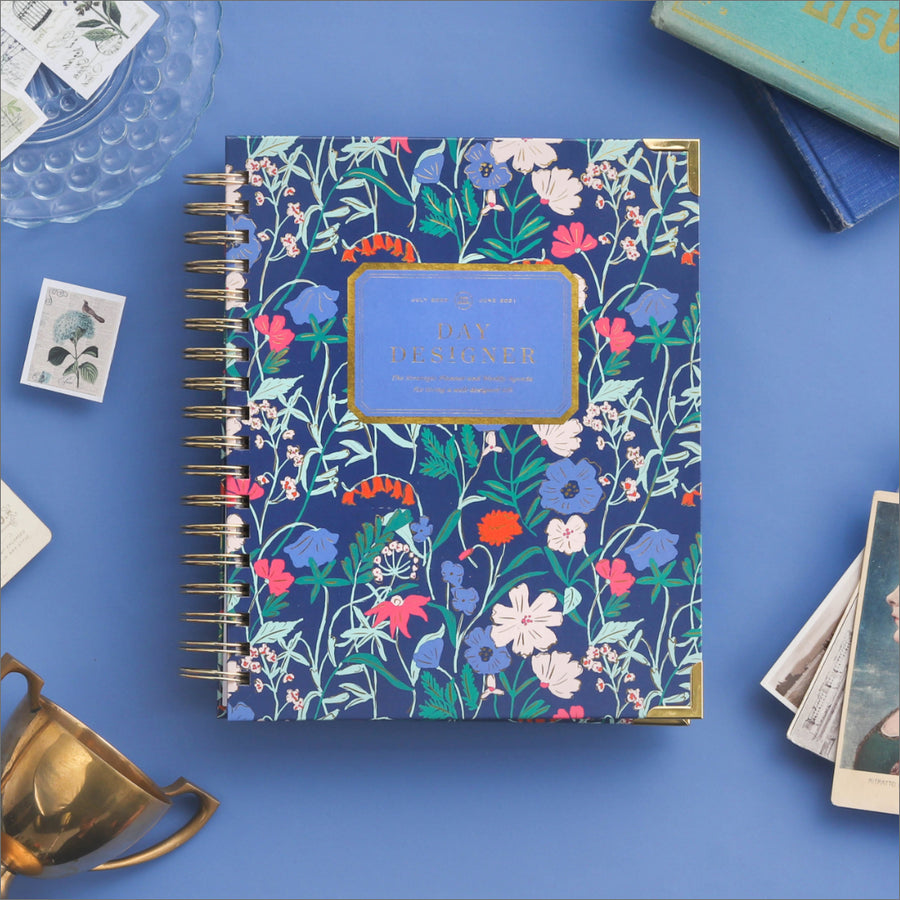 Academic Year 2020-2021 Mini Daily Planner: Wildflowers
