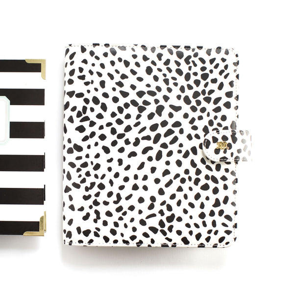 Mini Day Designer Case: Black Spotty