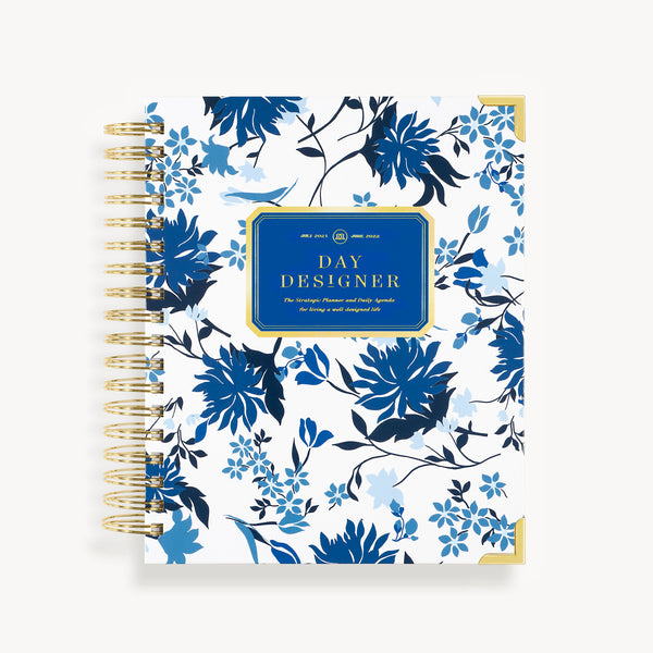 2021-2022 Daily Planner: Royal Garden