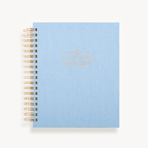 2021-2022 Daily Planner: Chambray Bookcloth