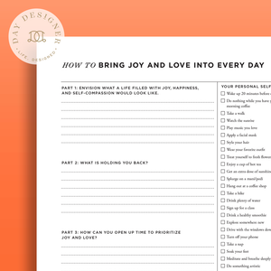 How to Bring Joy and Love into Every Day