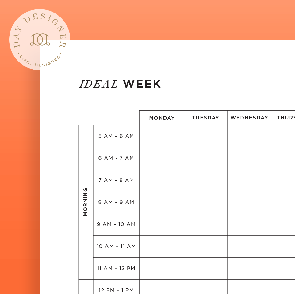 photograph relating to Week Planner Printable referred to as Best 7 days