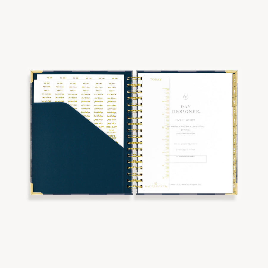 Academic Year 2021-2022 Daily Planner