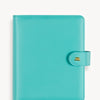 A5 Leather Binder: Mindful Mint